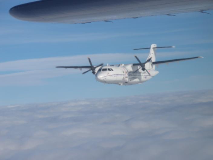 QAD: Intercomparison flight picture