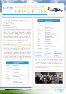 23rd EUFAR Newsletter (March 2019)