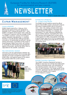 11th EUFAR Newsletter (September 2014)