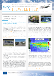 16th EUFAR Newsletter (June 2016)