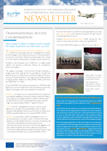 17th EUFAR Newsletter (September 2016)