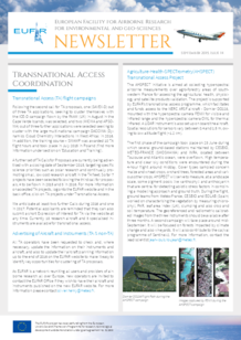 14th EUFAR Newsletter (September 2015)