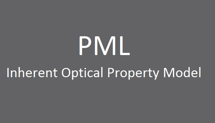 PML Inherent Optical Property Model image