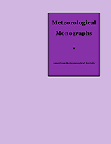 AMS Meteorological Monographs