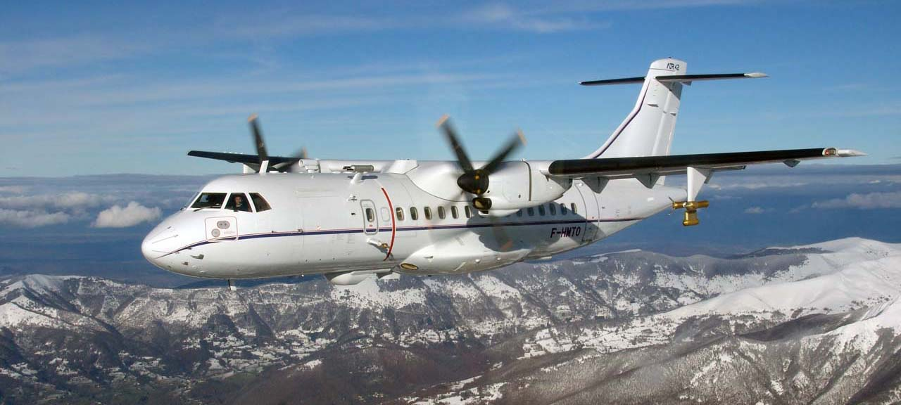 Safire's ATR42 aircraft (part of the EUFAR2 transnational access fleet)
