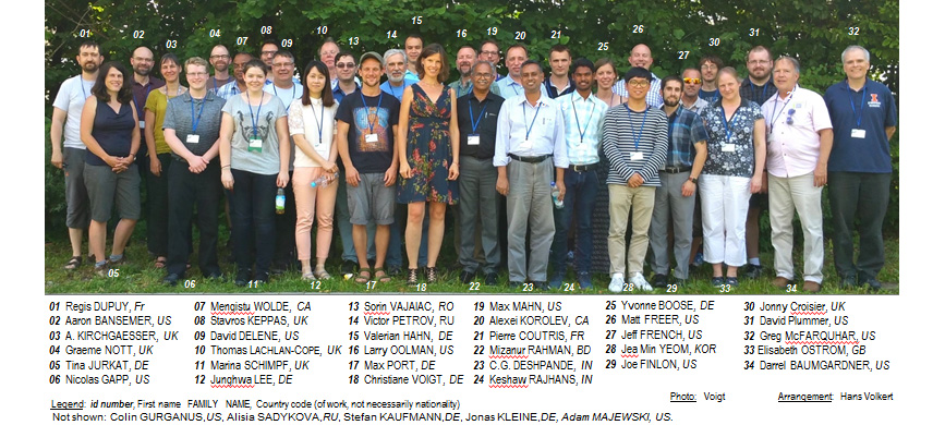EUFAR/IAMAS/IUGG/ICCP Workshop on Processing of Cloud Particle Measurements