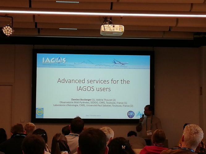 Presentation by Damien Boulanger at the scientific session: airborne data as a link between EUFAR and IAGOS