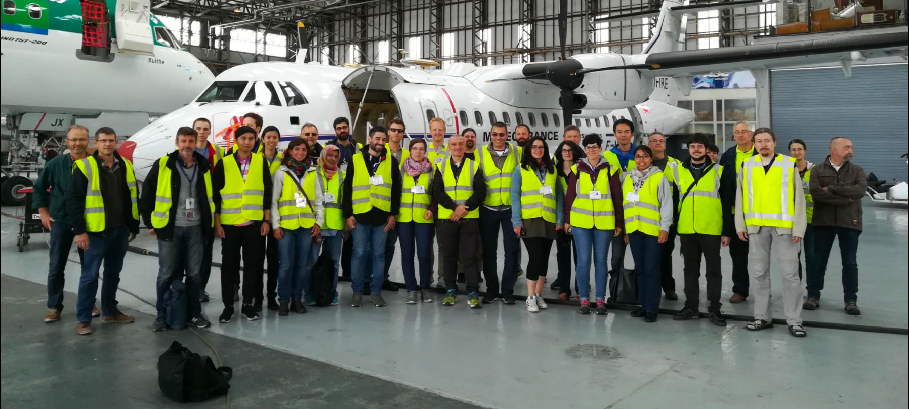 EUFAR trained next generation researchers in airborne measurements