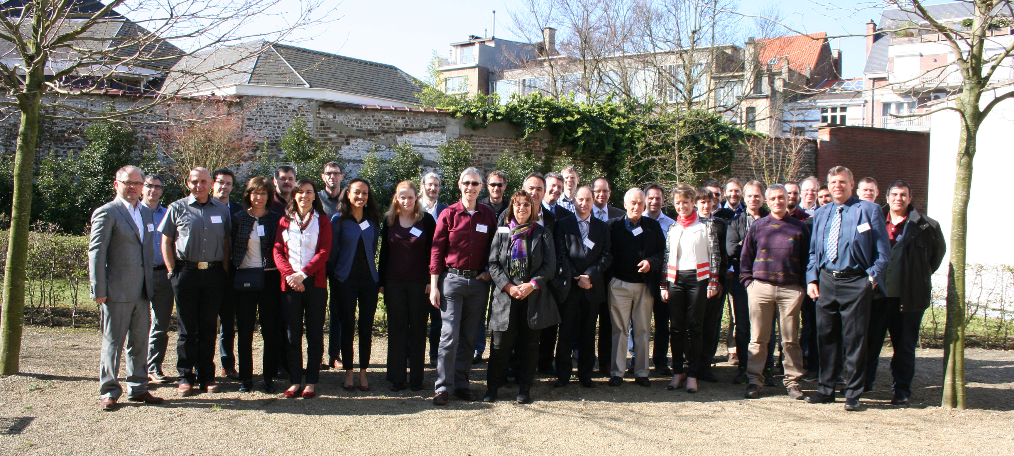 EUFAR2 kick-off meeting and GA01 - Group Photo, BELSPO Offices, Brussels, March 2014