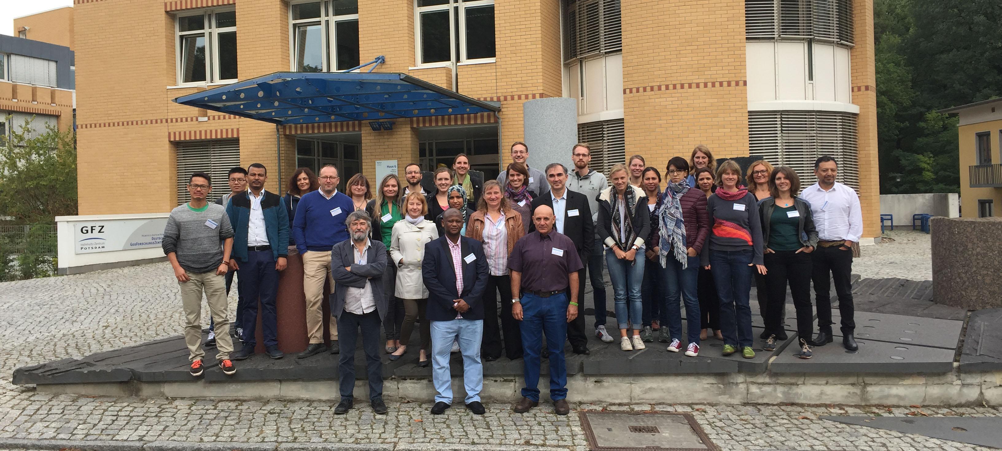 EUFAR Soil Applications Workshop - Group Photo - Sept 2016