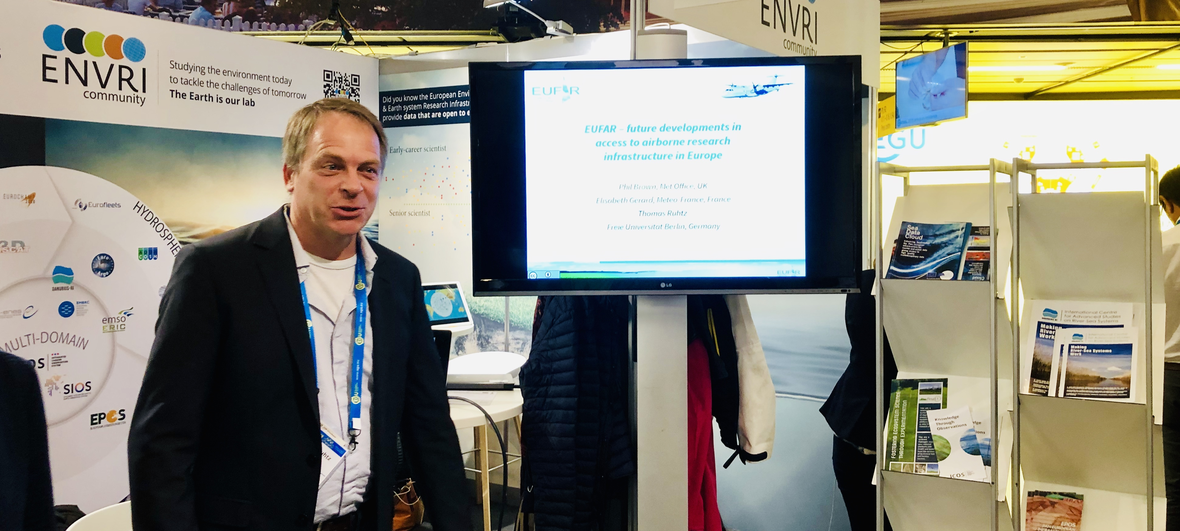 Contribution of EUFAR AISBL to EGU 2019