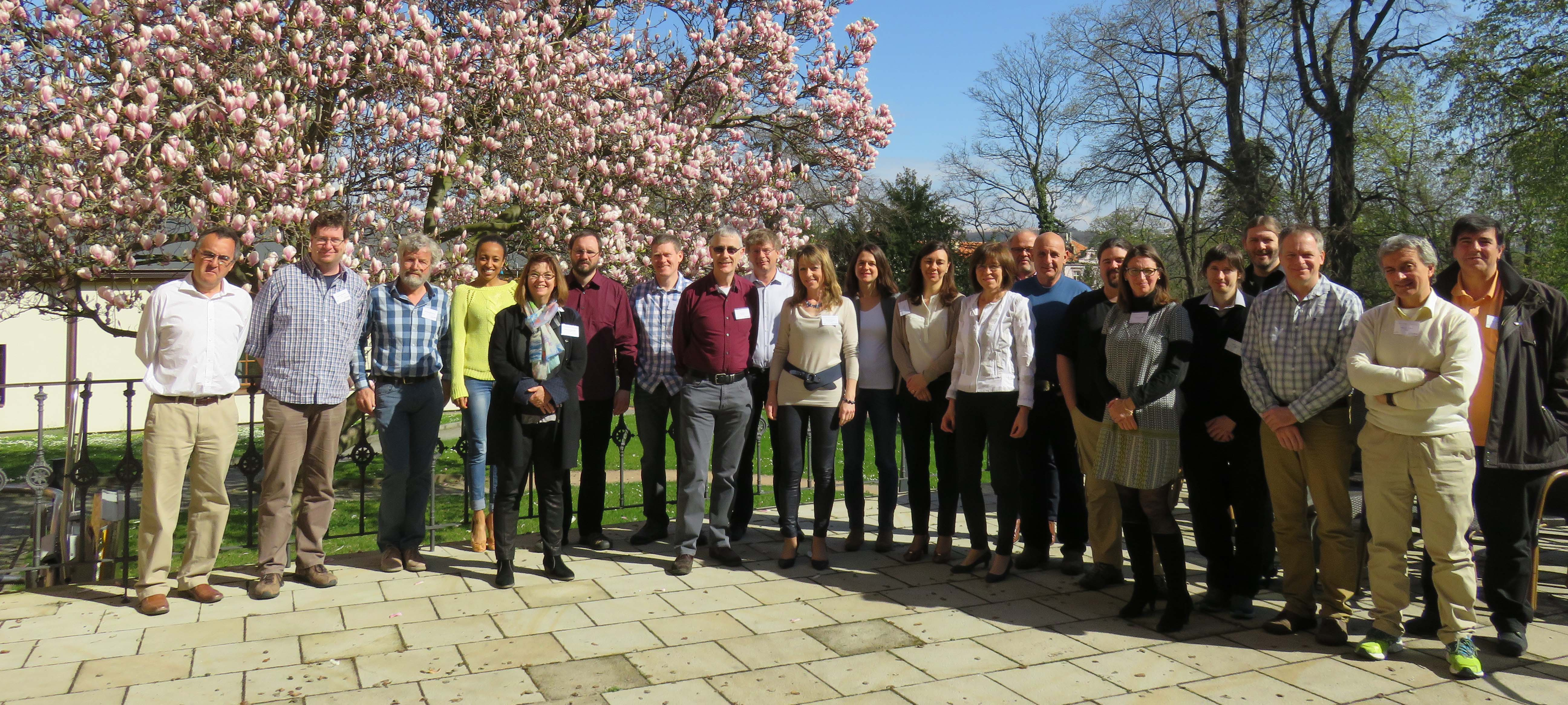 EUFAR2 General Assembly 03, Group Photo, Vila Lanna, Prague, April 2016