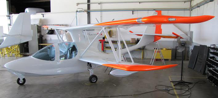 The Wings For Science pipistrel super petrel LS amphibious aircraft
